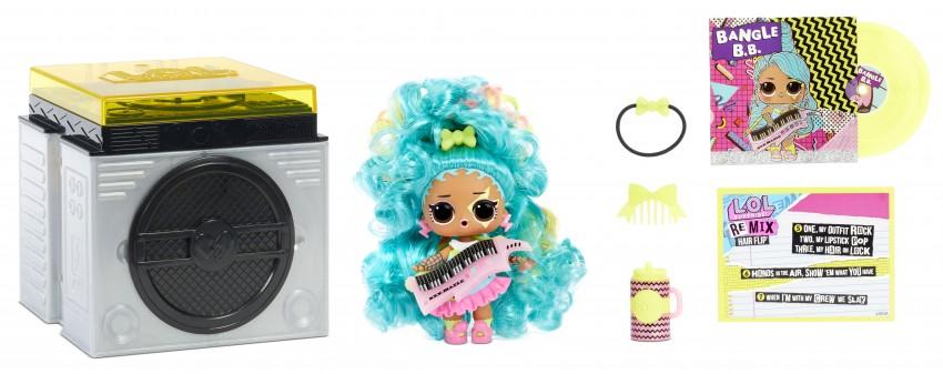 L.O.L. Surprise! Remix Hair Flip poppen