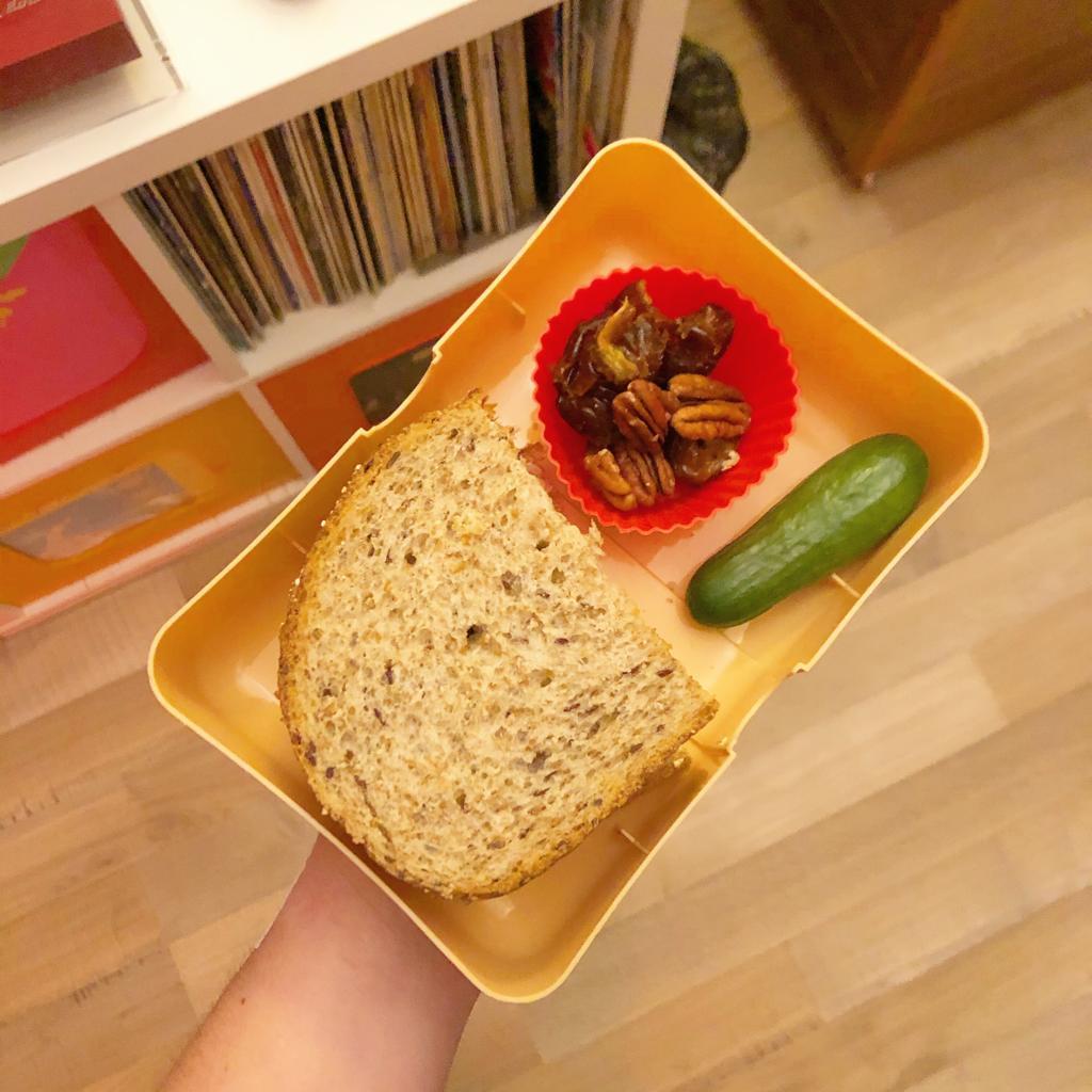 Makkelijke gezonde broodtrommel