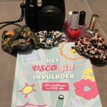 het VSCO girls invulboek