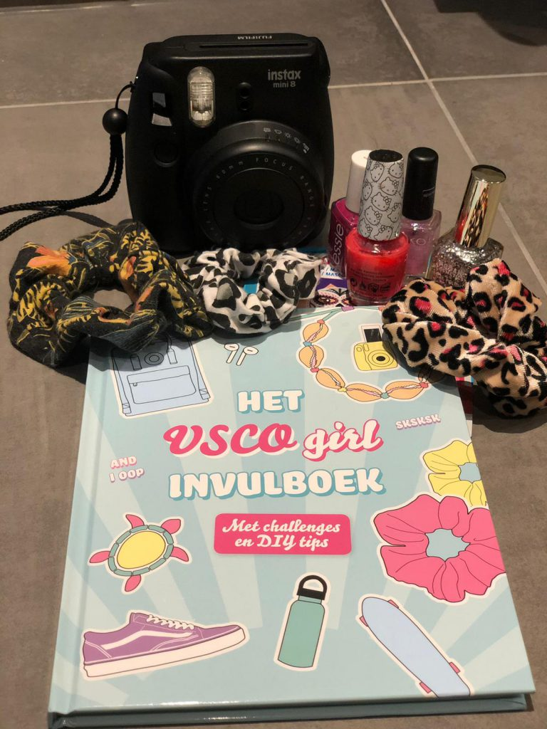 Het VSCO girl invulboek