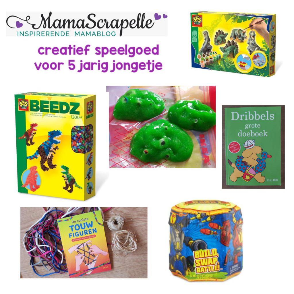creatief speelgoed verlanglijstje voor 5 jarig jongetje