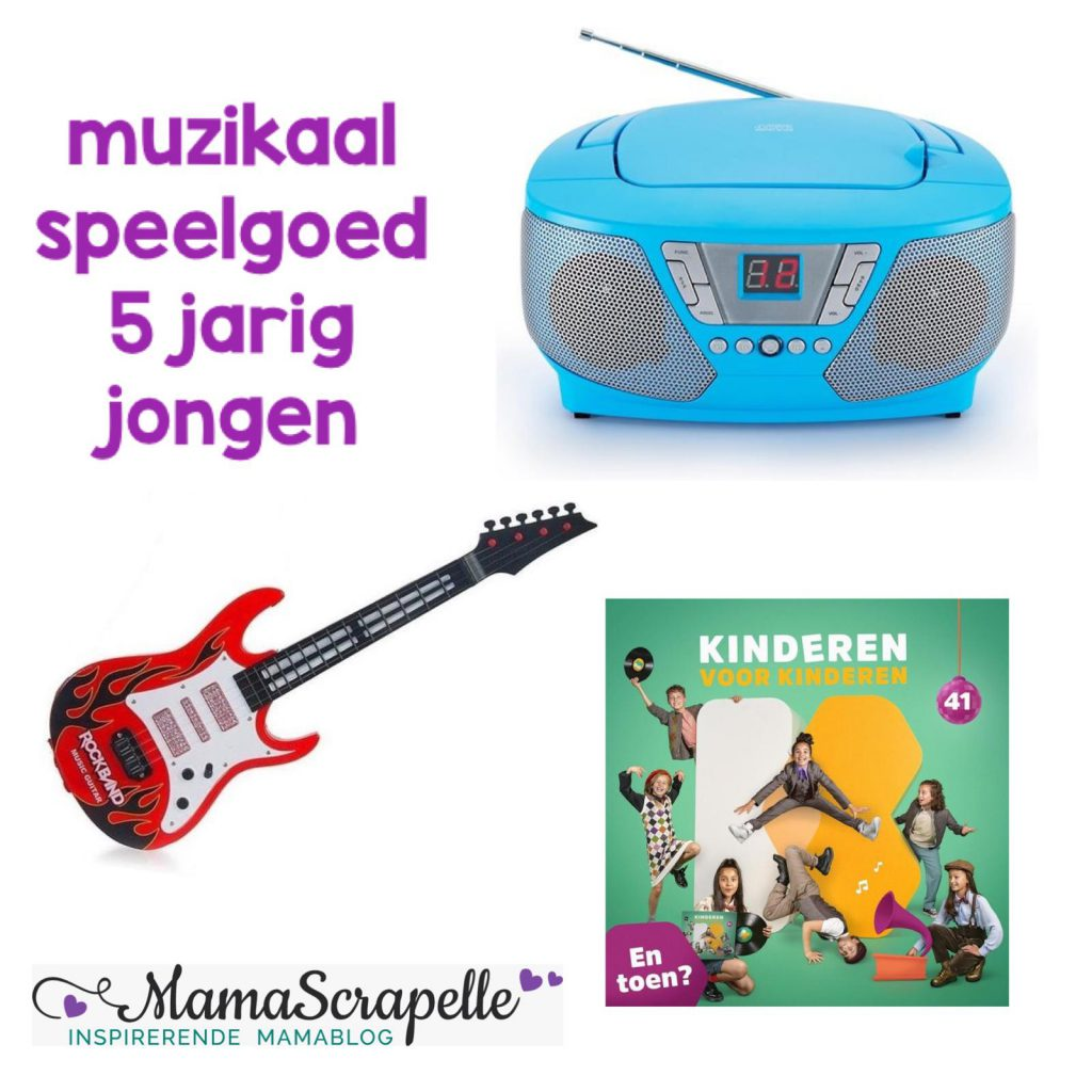 verlanglijstje voor 5 muzikaal speelgoed