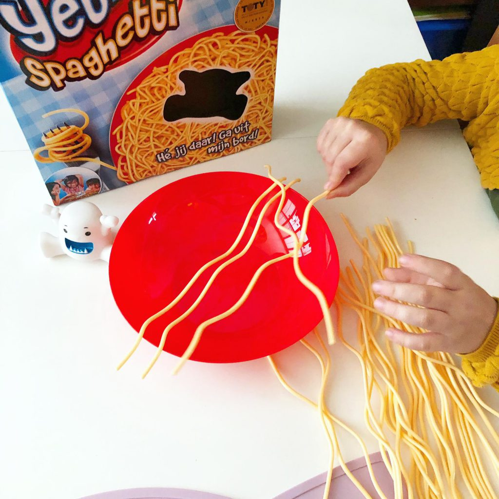 Yeti in mijn spaghetti