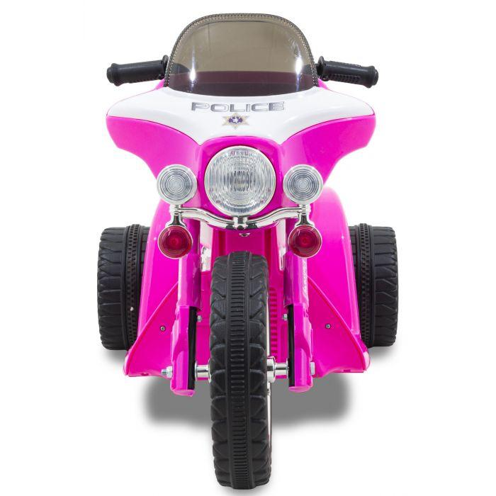 roze politiemotor