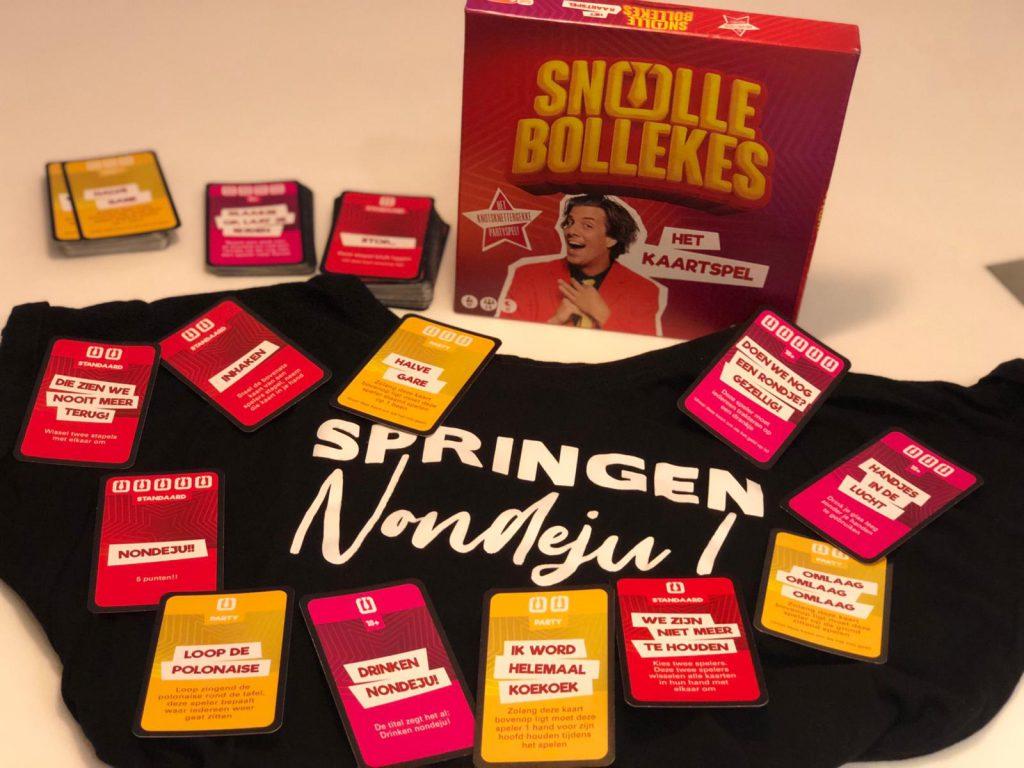 Snollebollekes Het kaartspel