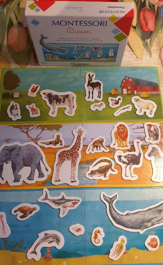 Montessori dieren van Clementoni