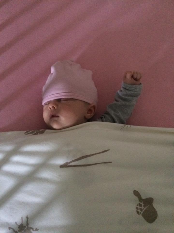 baby die lief slaapt