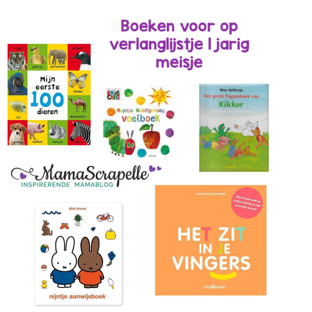 boeken voor de eerste verjaardag