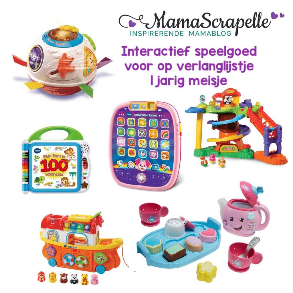 interactief speelgoed voor verlanglijstje voor 1 jarig meisje