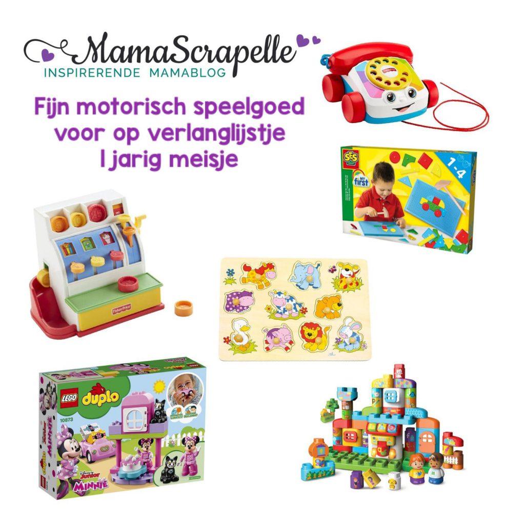 fijn motorisch speelgoed verlanglijstje voor 1 jarig meisje