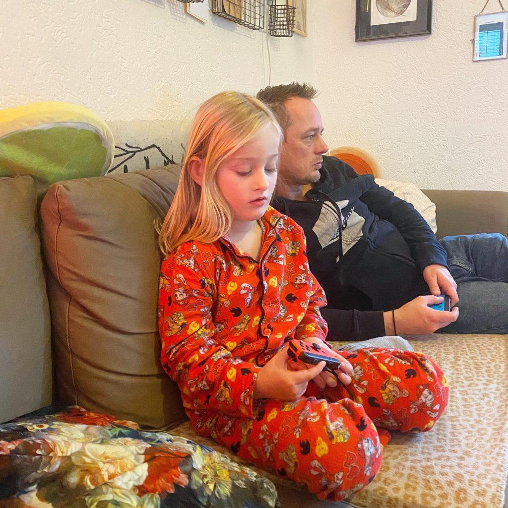 vader en dochter spelen spel