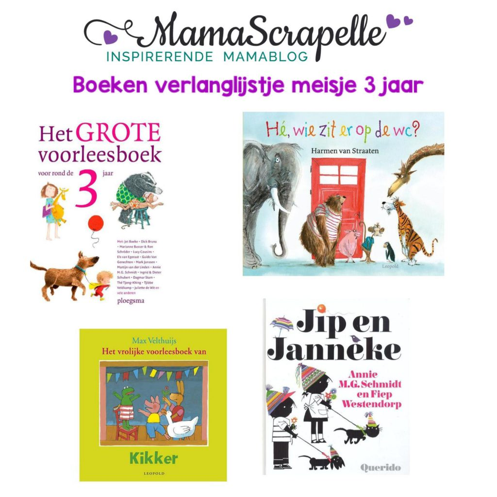boeken voor drie jarigen