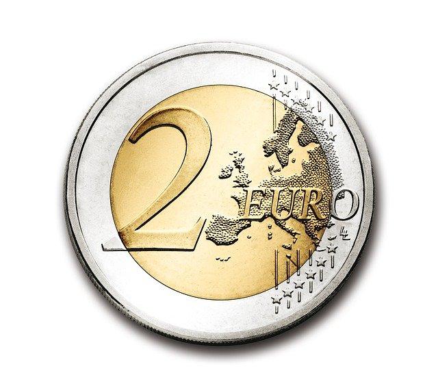 steenpuist wond als 2 euro muntstuk