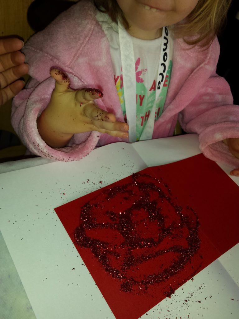 kerstkaarten maken met kinderen