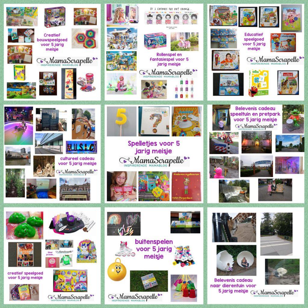 verlanglijst 5 jarig meisje cadeautips inspiratie speelgoed