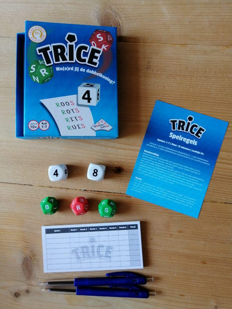 Trice een nieuw woordspel