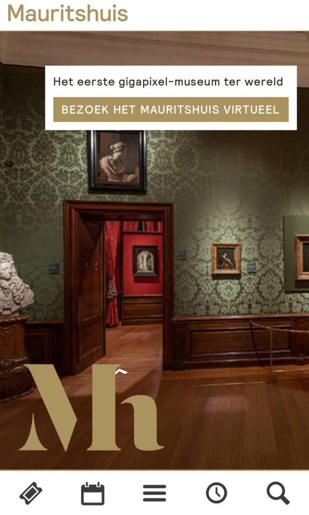 kerstvakantie in het online Mauritshuis