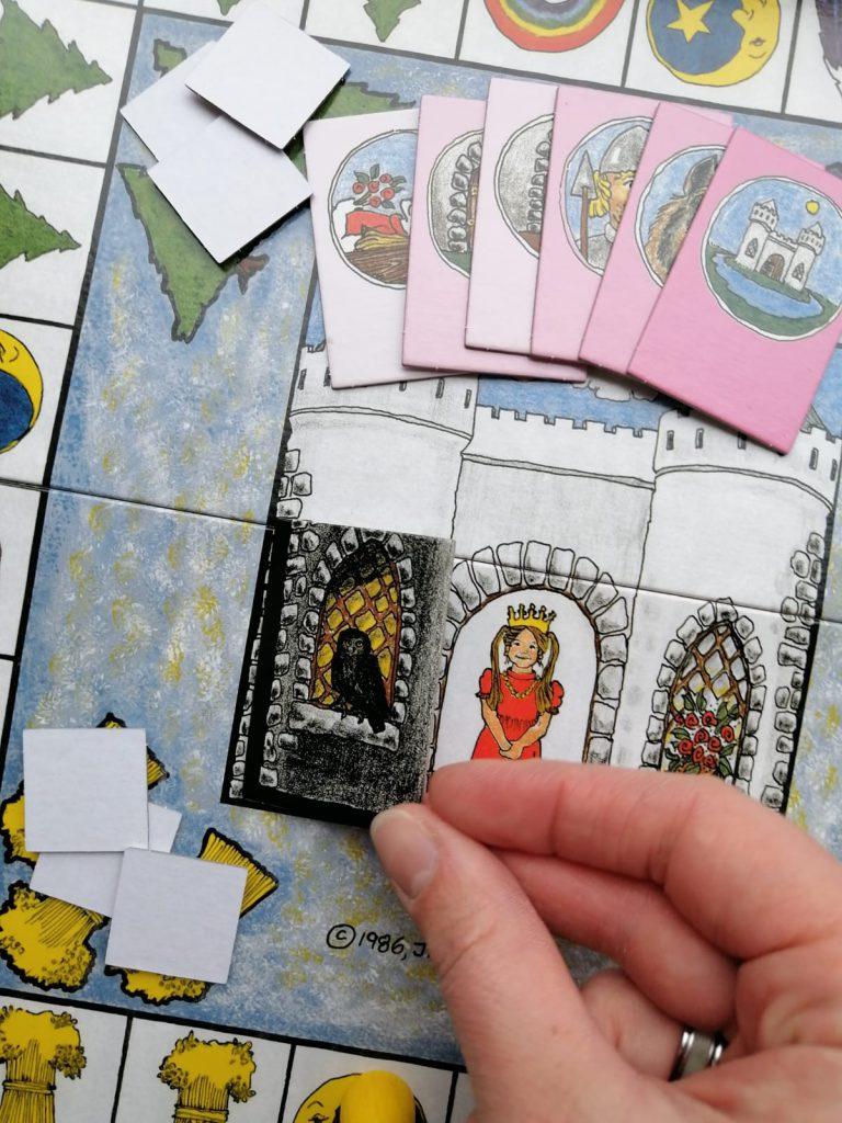 Prinses een coöperatief fantasiespel