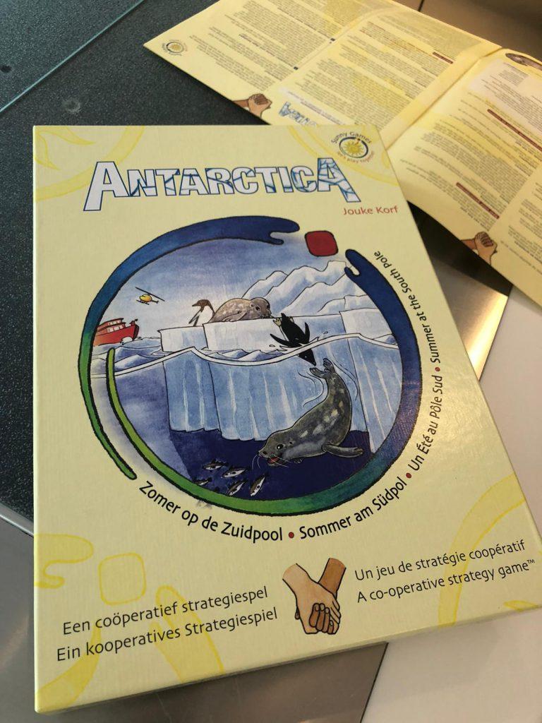 Antarctica een coöperatief strategiespel
