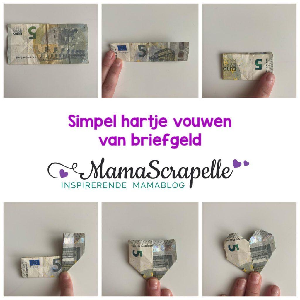 Simpele vouw ideeën met geld