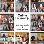 online teamuitje MamaScrapelle StoerLeesVoer