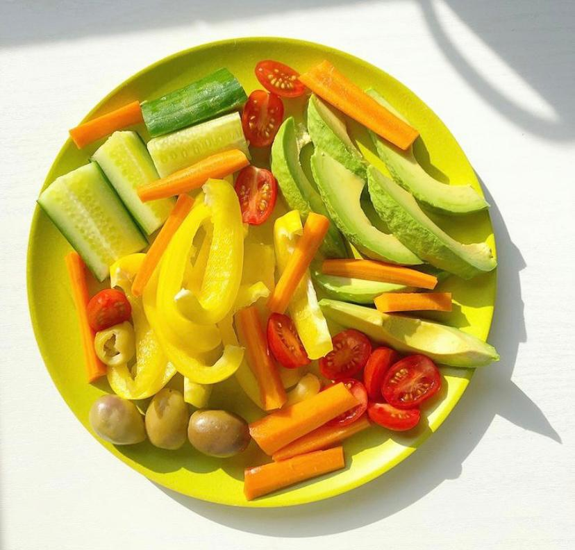monkey platter groente fruit gezond