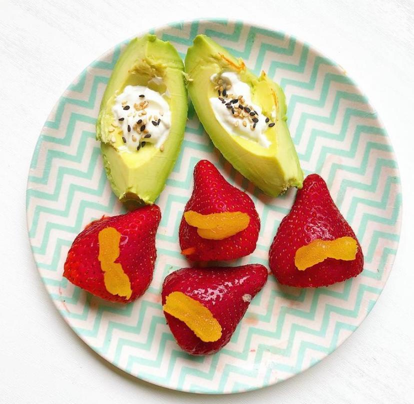 monkey platter gezond groente fruit