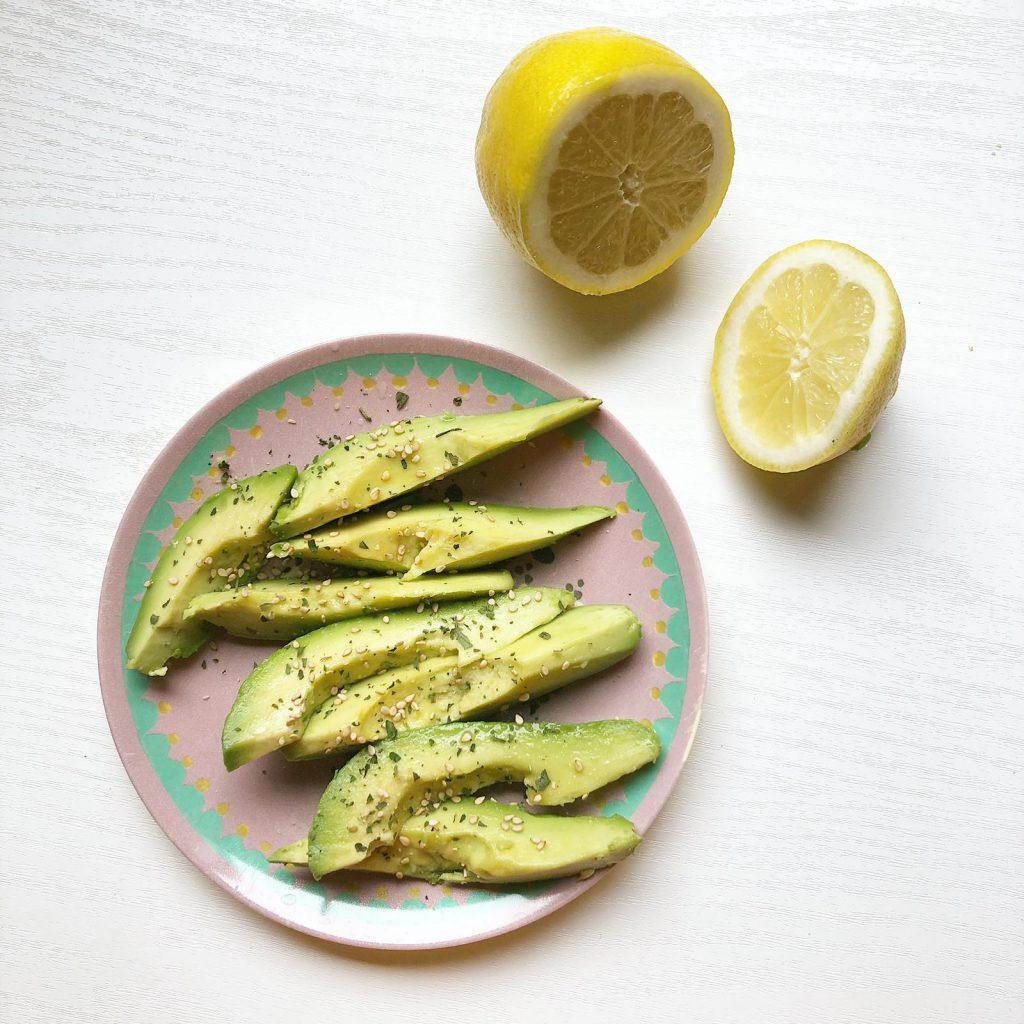 avocado citroen fruit groente gezond