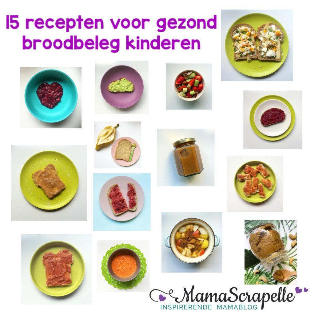 gezond broodbeleg jam kinderen