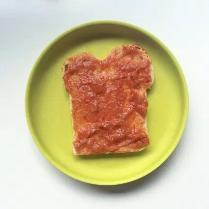 gezond broodbeleg kinderen jam tomaten