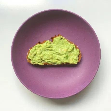 gezond broodbeleg avocado boterham