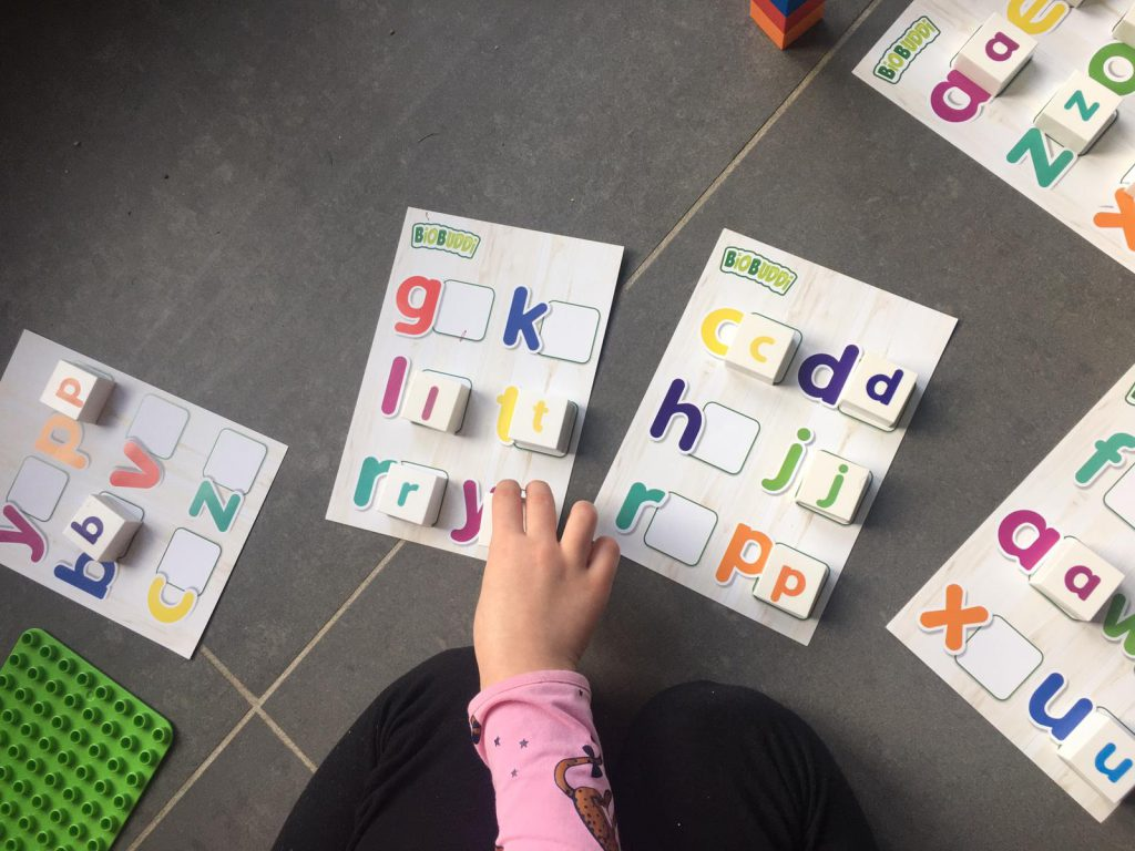 letters leren met BiOBUDDi