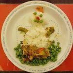 creatief eten met kleuter