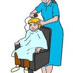 zelf haren van je kind knippen