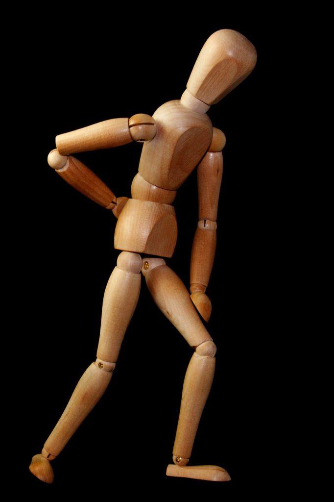 houten pop