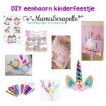 DIY eenhoorn kinderfeestje