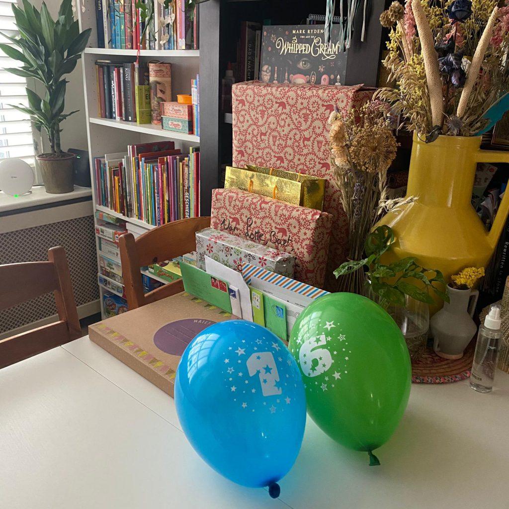 Een kinderverjaardag in coronatijd