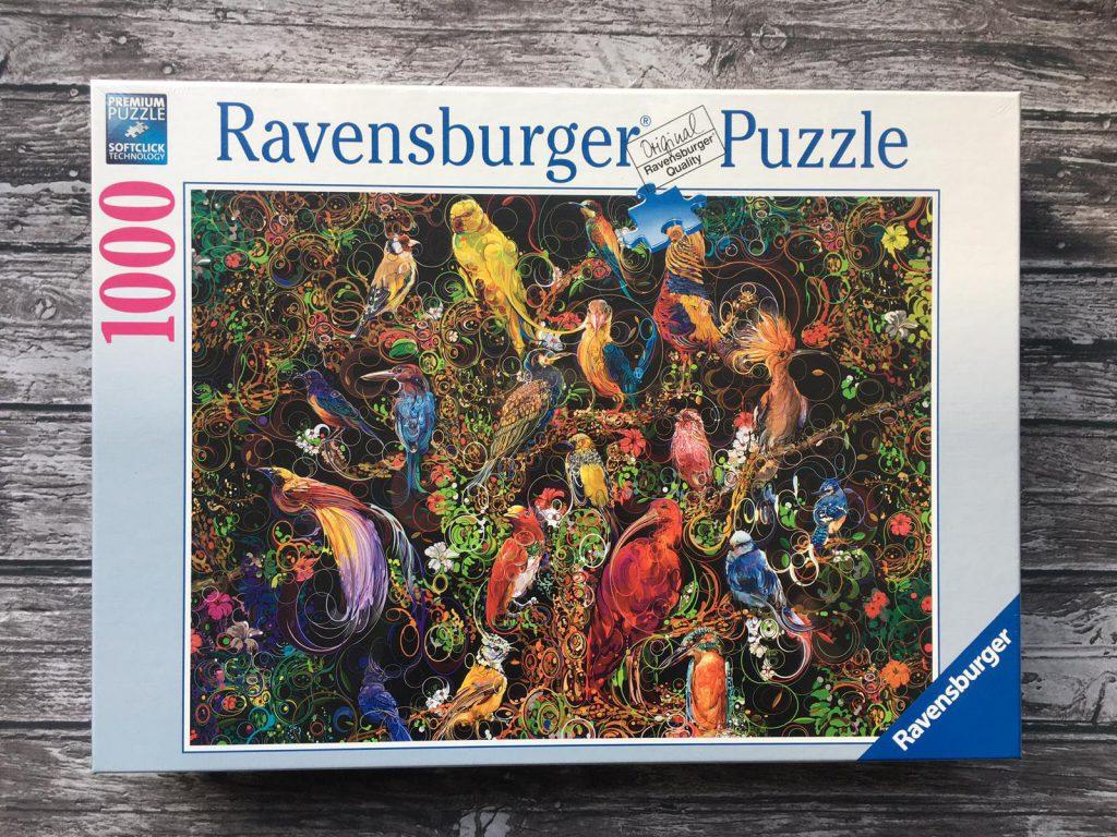 vogel ravensburger puzzel