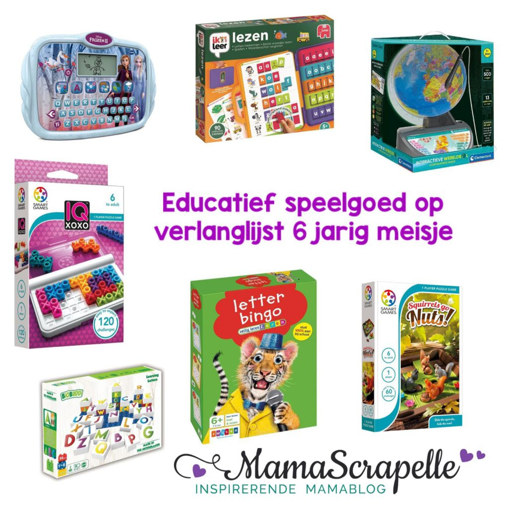 educatief speelgoed op de verlanglijst voor 6 jarig meisje