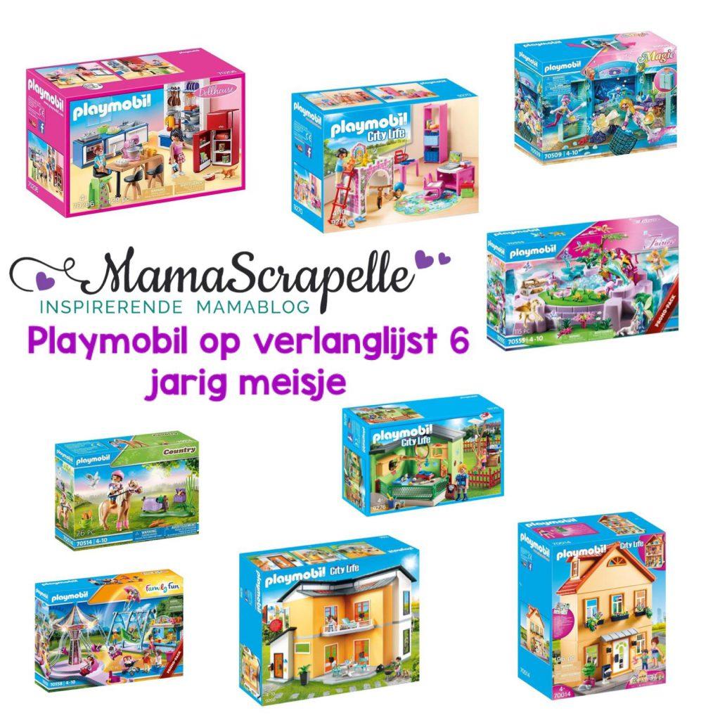playmobil op de verlanglijst voor 6 jarig meisje
