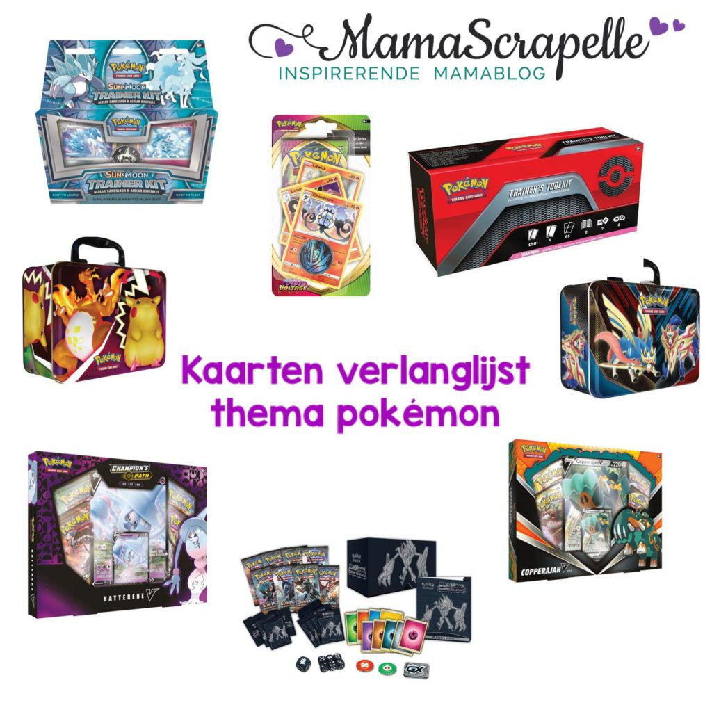 verlanglijst thema pokemon