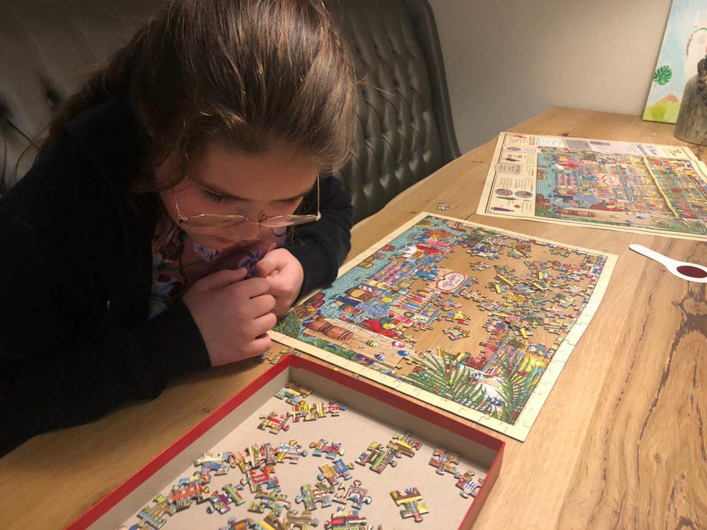 rosalie puzzelen