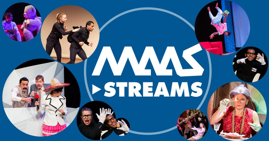 livestream voorstellingen Maaspodium