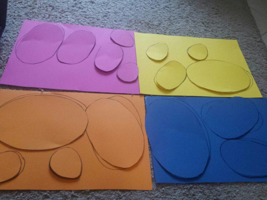 kleuren puzzel