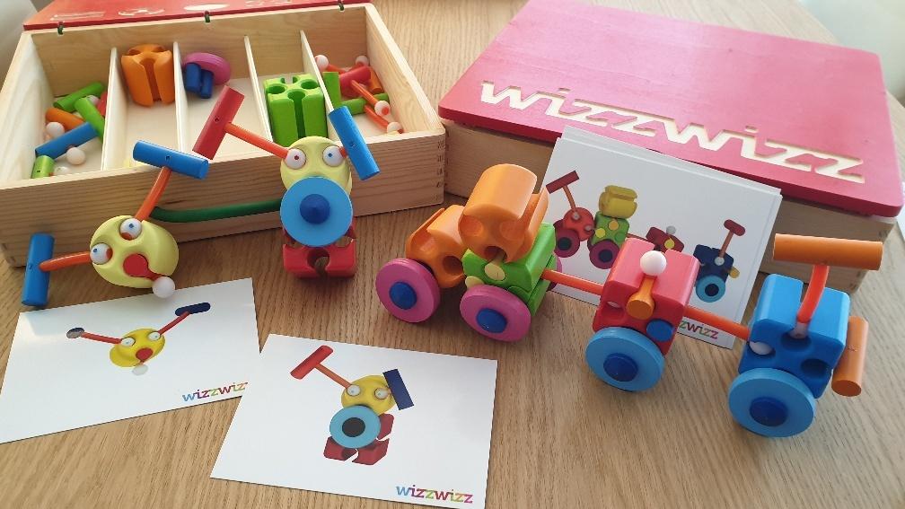 wizzwizz houten koffer