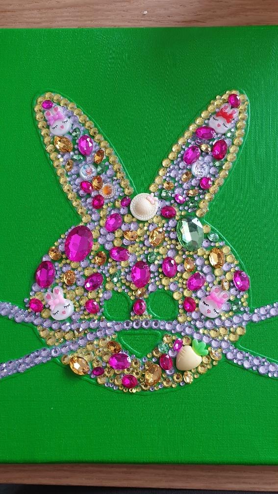 Knutselen voor de Pasen met glitters
