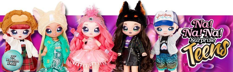 NaNaNa Surprise Teen Dolls