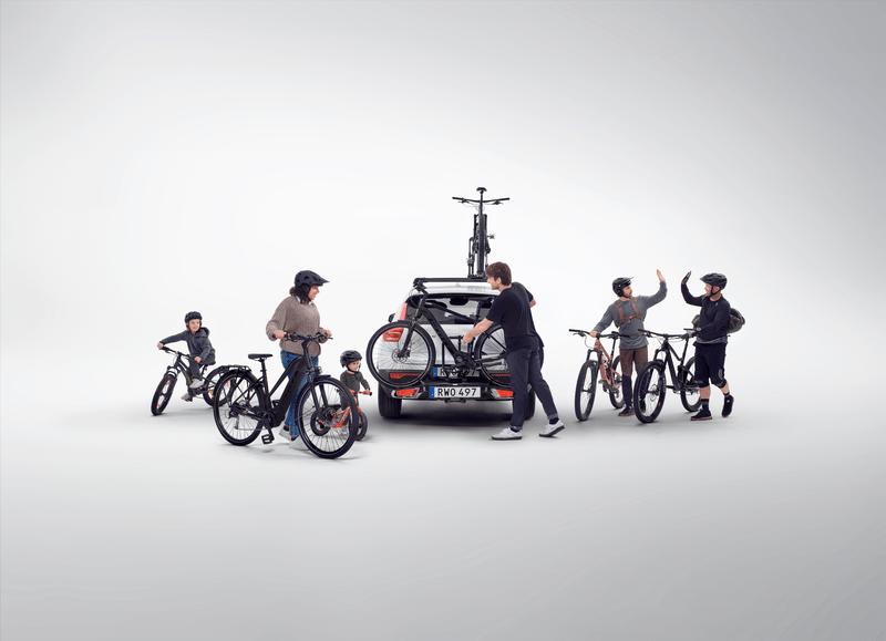 fietsendrager van Thule