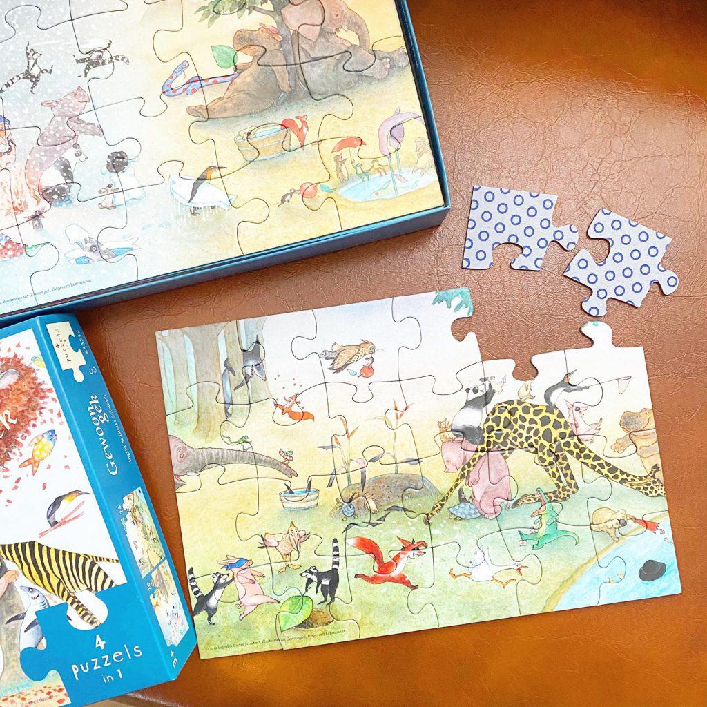 Lemniscaat puzzels