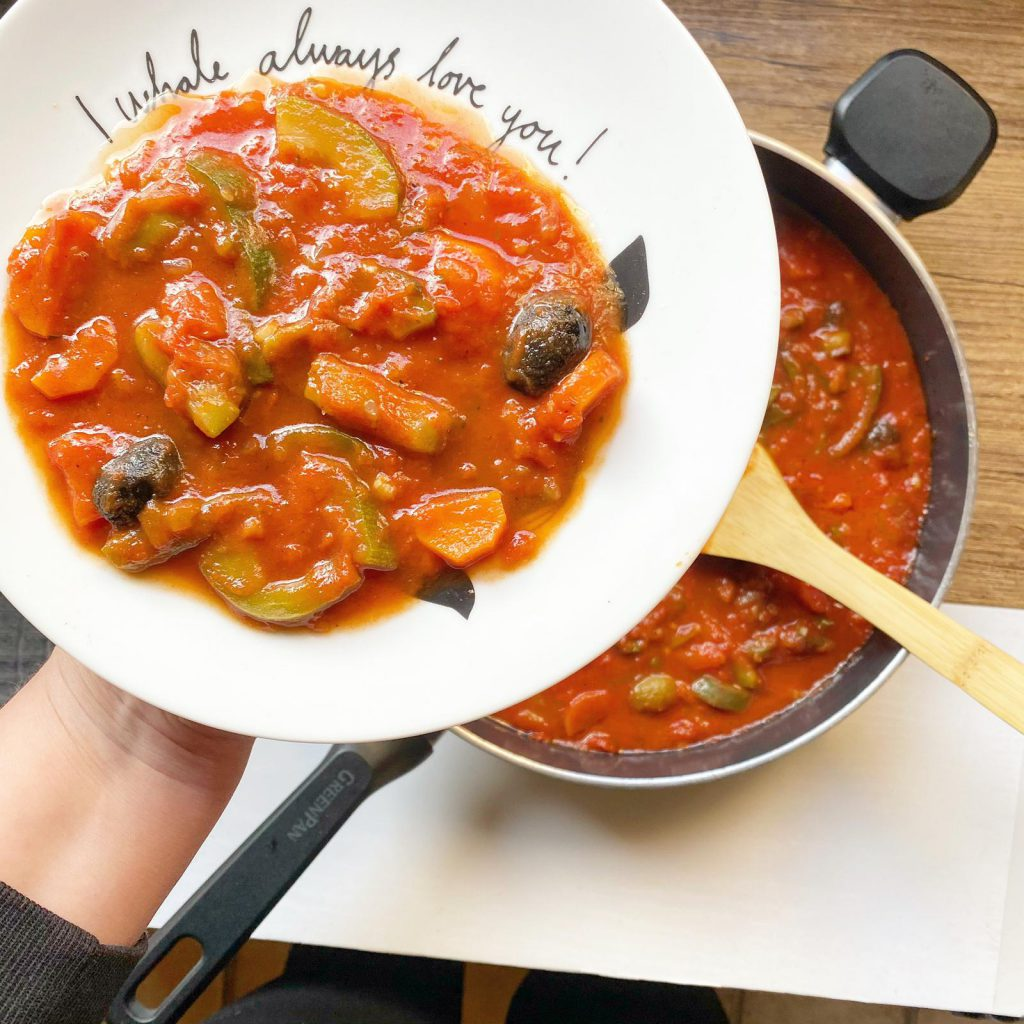 saus groente